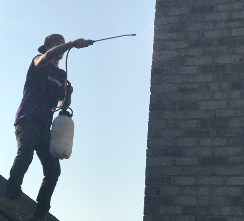 chimney water proofing
